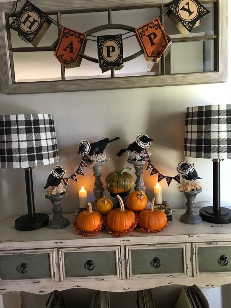 Halloween decorations Fall Food  Decor Pinterest Halloween