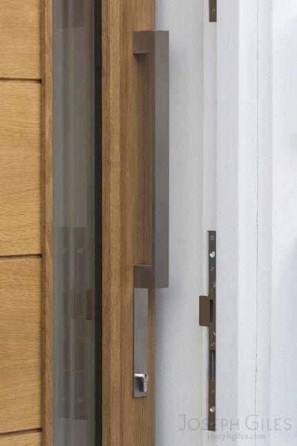 Joseph Giles Bespoke Stainless Steel Minimalist Front Door Pull