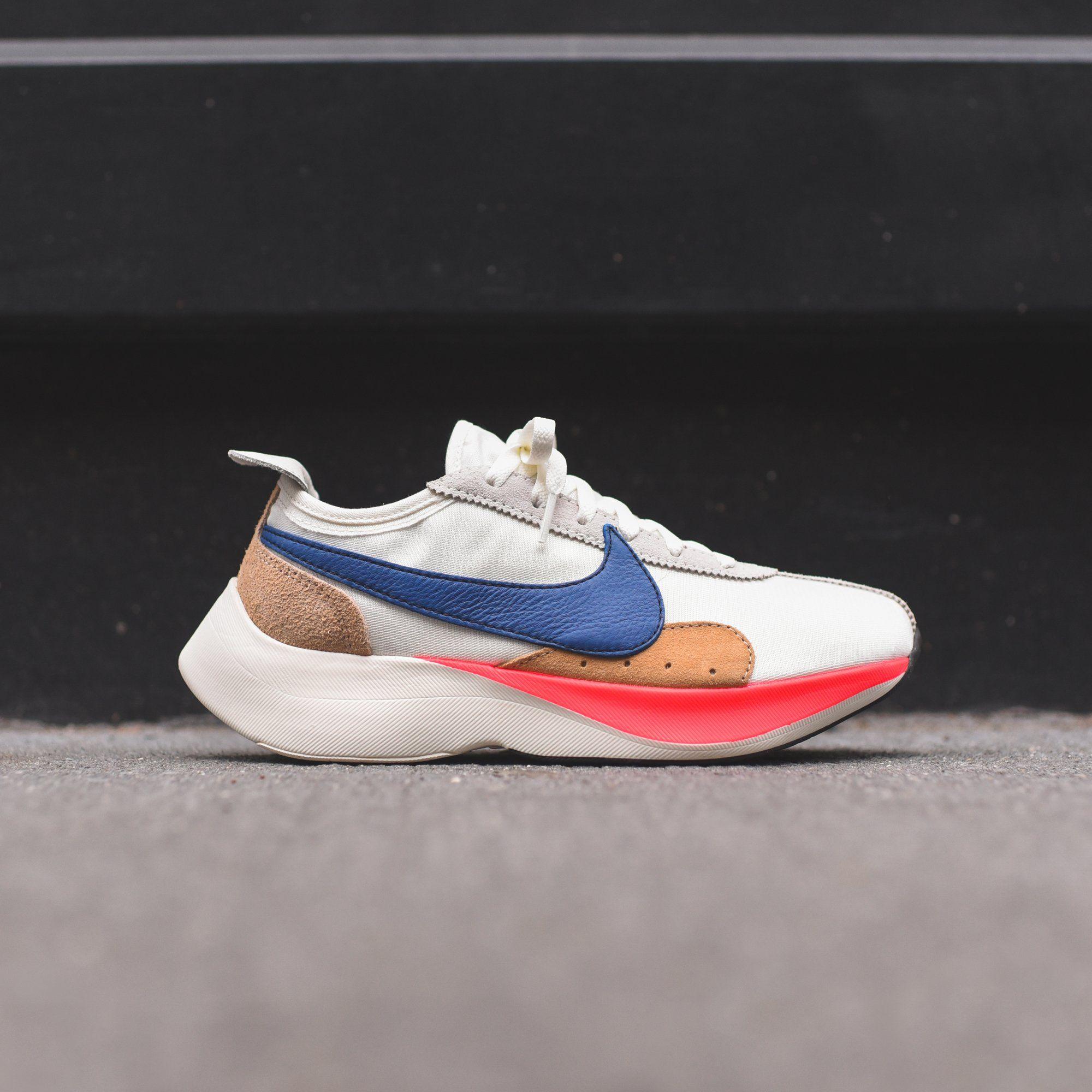 150 Nike Moon Racer Qs Sail Gym Blue Solar Red Praline Nike Suede Heels Desert Boots