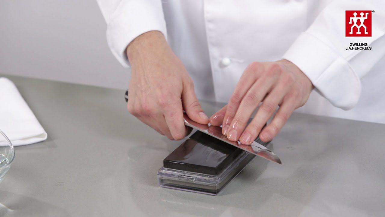 Zwilling Küchenhilfe ~ Messer schärfen mit dem wetzstein u so geht s u zwilling j a