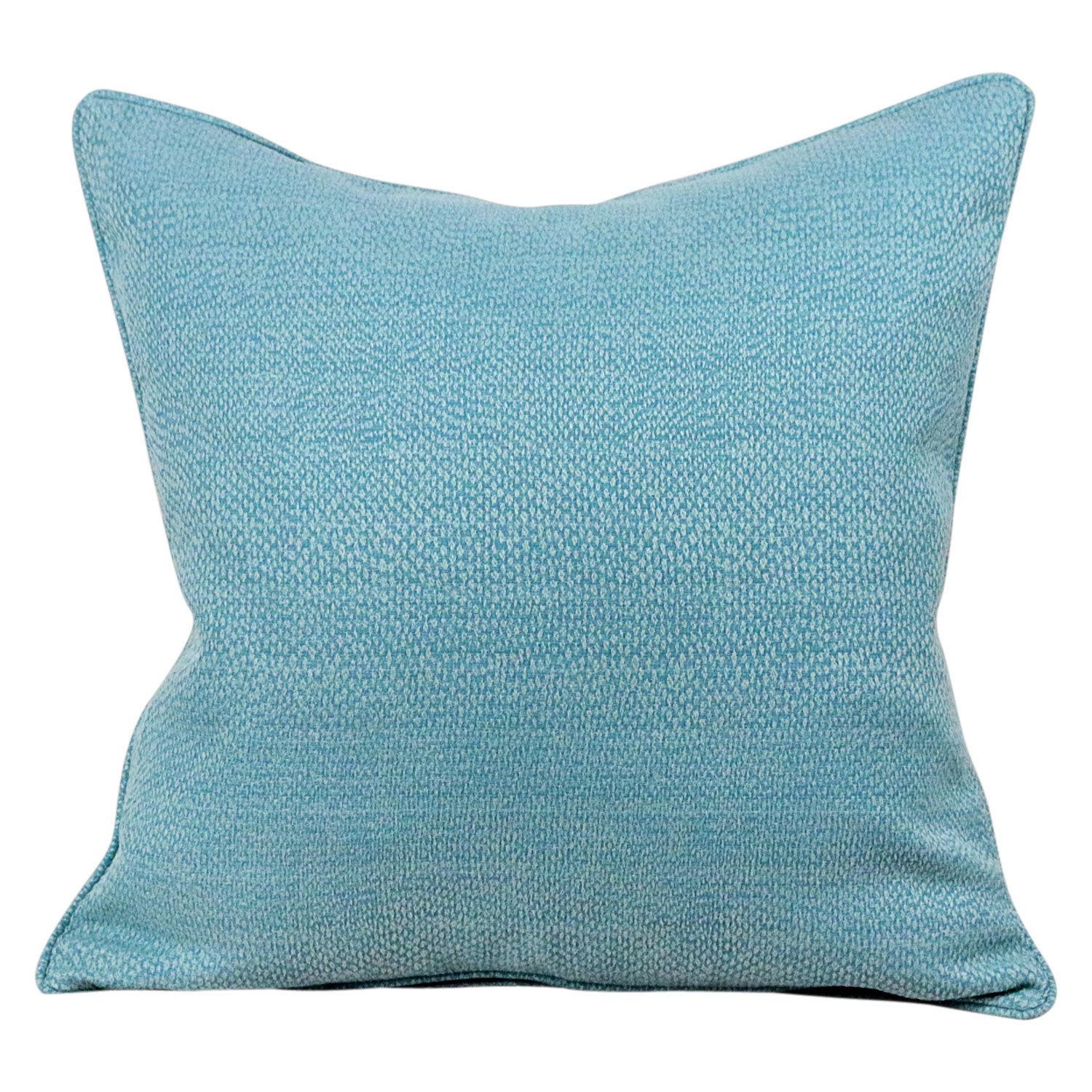Tiffany Blue Pebble Textured Decorative Pillow Lumbar Pillow Cover by BBFabric on Etsy