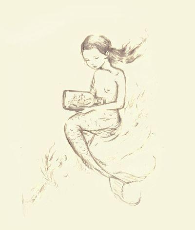 Mermaid Sketch1
