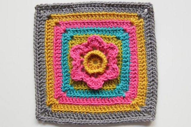 Free Crochet Patterns Free Crochet Granny Square Motif Patterns