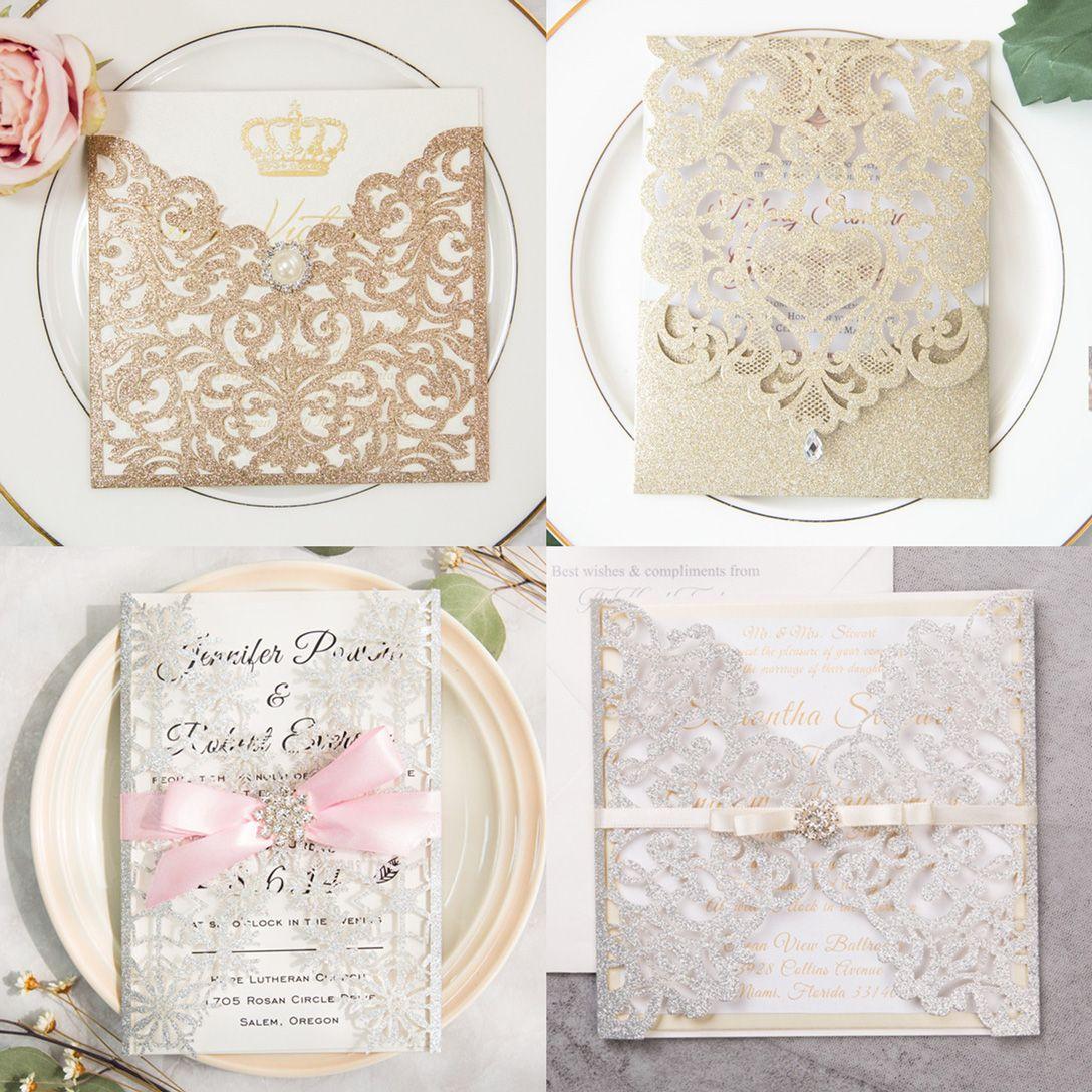 Neue Edle Laserschnitt Karten Auf Glitzer Papier Als Hochzeitseinladung Www Akhofprint Ch Prin Einladungskarten Hochzeit Karte Hochzeit Hochzeitskartendesign