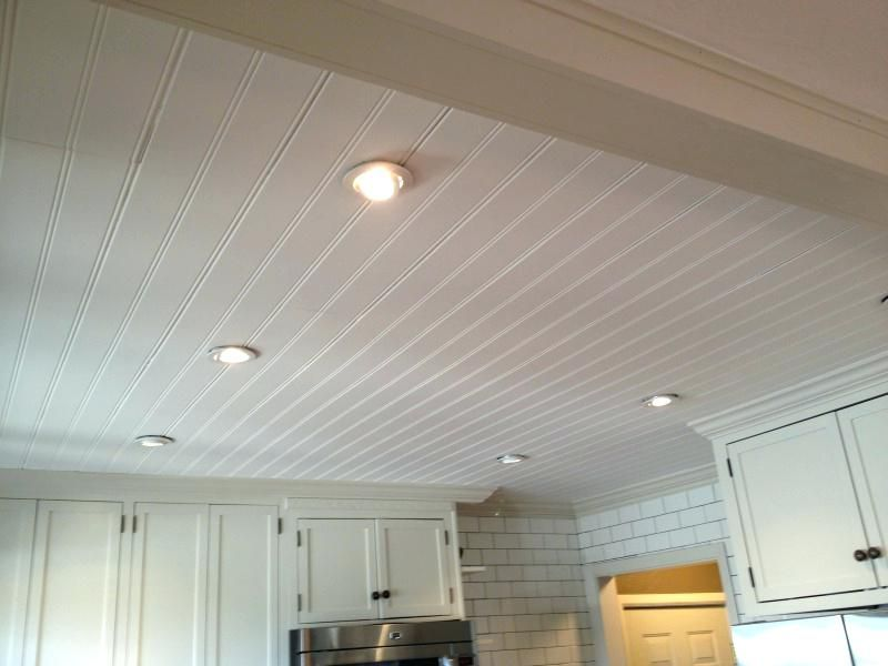 Beadboard Ceiling Ceiling Tiles Ceiling Installation For Wall