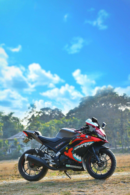 Yamaha R15 V3 Red Shark Nature Background Images Best