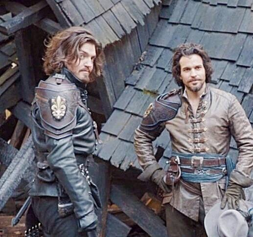 Athos and Aramis - Musketeers