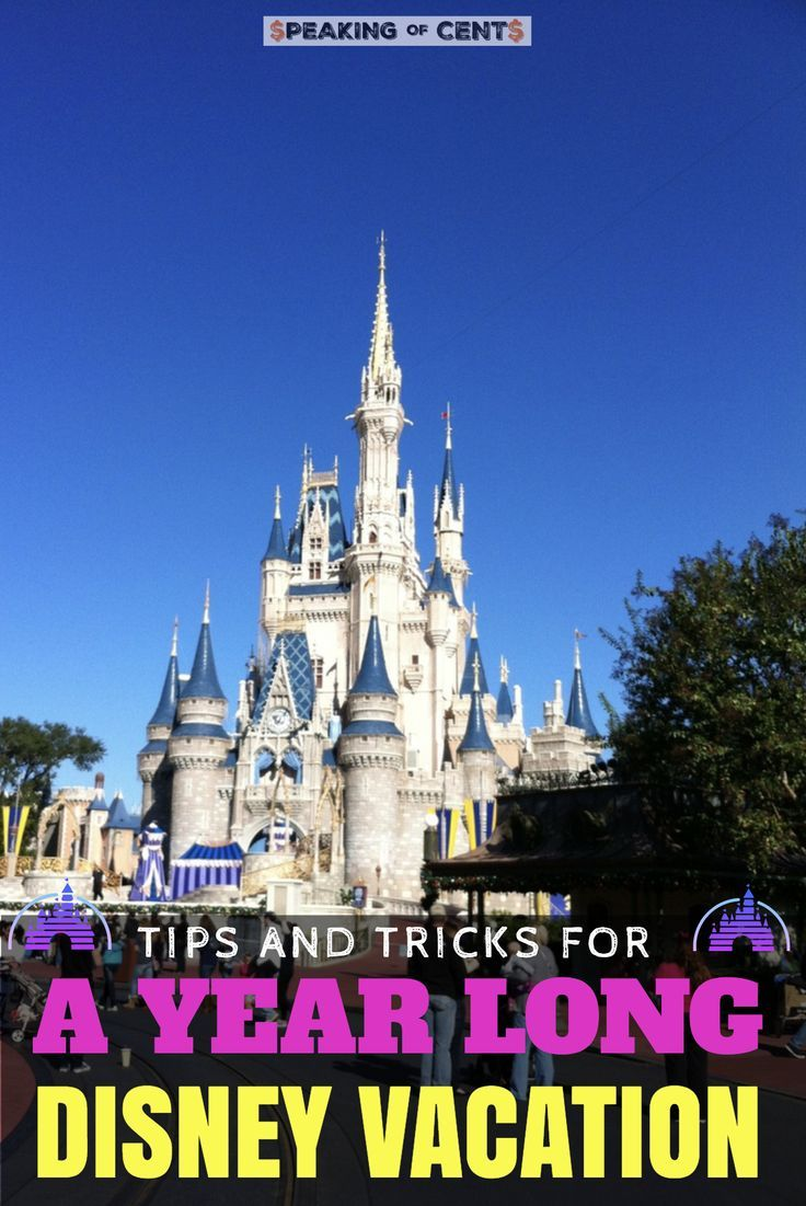 Tips And Tricks To Get The Most Out Of One Year Of Disney