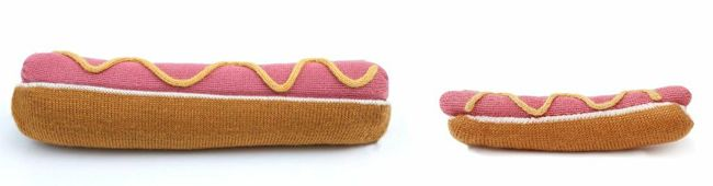 Oeuf X Colette Hot Hot Dog For Chu Baby Pillow Baby Time