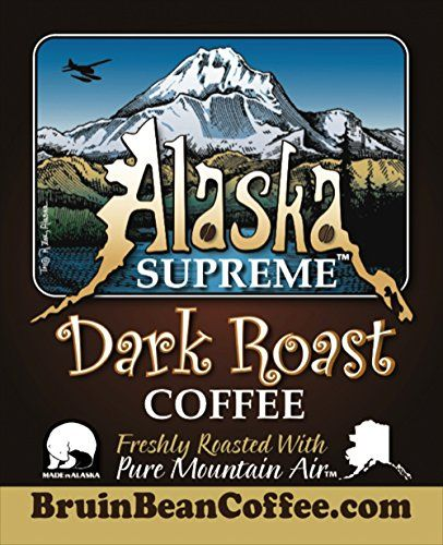 Alaska Supreme Coffee TM, WHOLE BEAN, Freshly Roasted in Alaska with Pure Mountain Air TM - Specialty, Rich, Dark Blend & Premium Roast - Gourmet, Low Acidity, 12 oz Resealable, High Quality Bags - Satisfaction Guaranteed Bruin Bean Coffee TM http://www.amazon.com/dp/B00KQRU1EM/ref=cm_sw_r_pi_dp_iw5Pwb18QNFKB