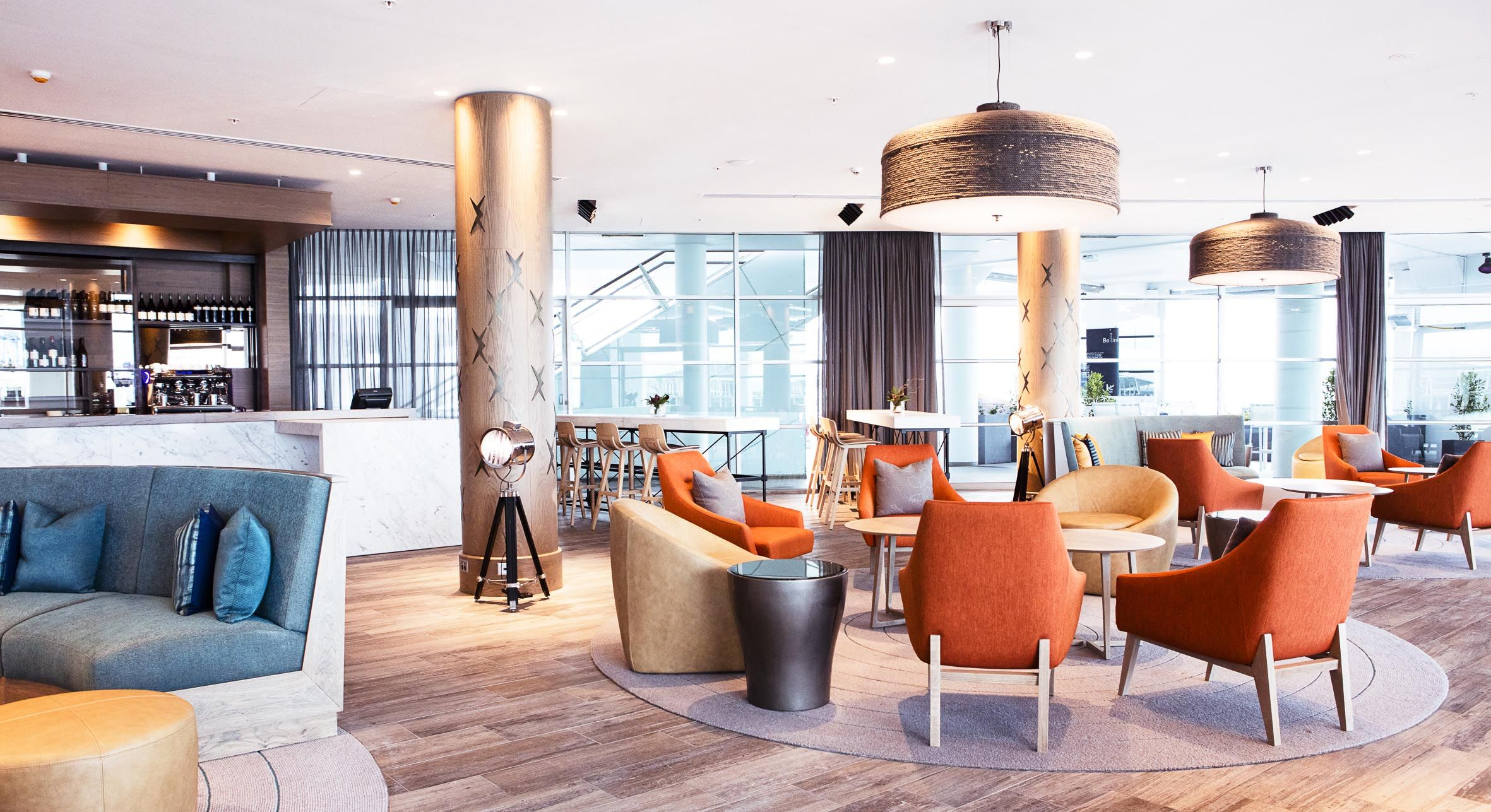 Bellini Bar at the Hilton Auckland designed by CHADA. | country ...