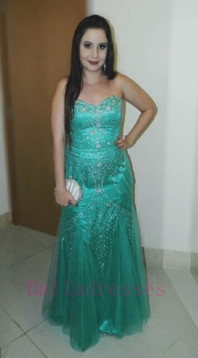 Blue and green prom dress  Green Prom GownSexy Prom DressesEvening GownsMermaid Party