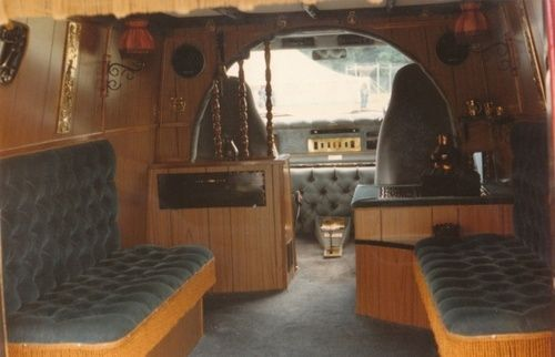 70s Custom Van Interior