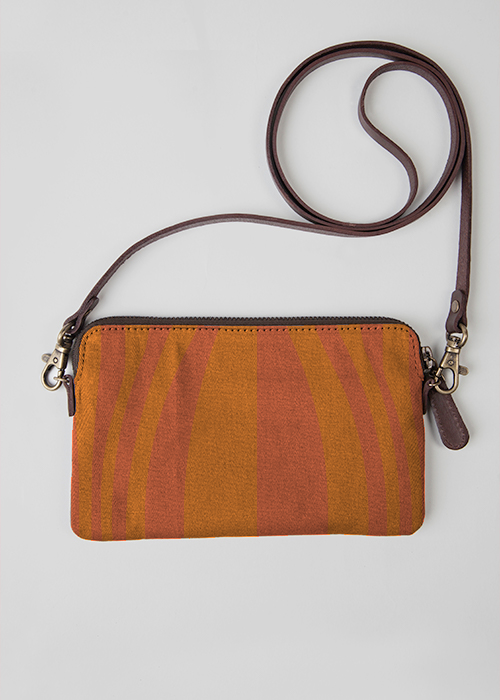 VIDA Leather Statement Clutch - Mistaken Point by VIDA
