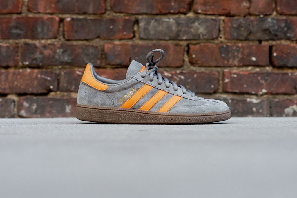 cozy fresh new appearance thoughts on ADIDAS Spezial - Grey / Orange | Sneaker | Kith NYC | Dis My ...