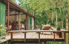 conhe a a casa in natura assinada por vania chene casa pinterest haus projekte haus. Black Bedroom Furniture Sets. Home Design Ideas