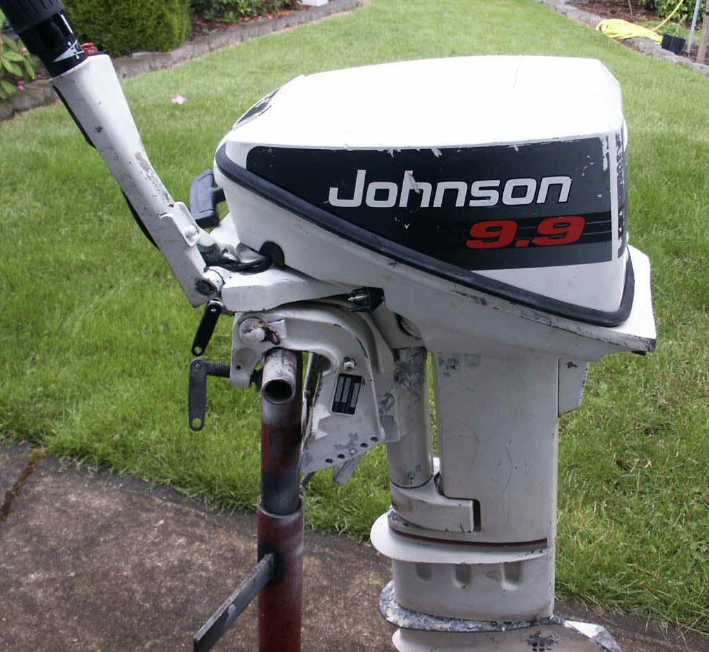 Johnson/Evinrude 9.9 & 15 hp 2 cycle outboards 1974 1992