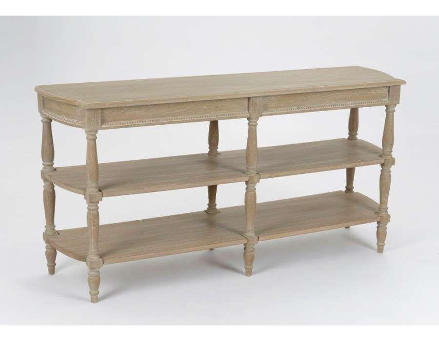 Meuble de drapier en bois c rus ou grande console drapier for Meuble en solde