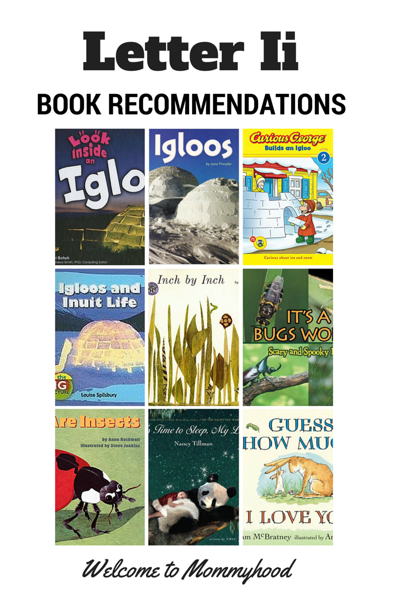 Welcome To Mommyhood Letter I Book Recommendations Book Recommendations Lettering Books [ 1200 x 800 Pixel ]