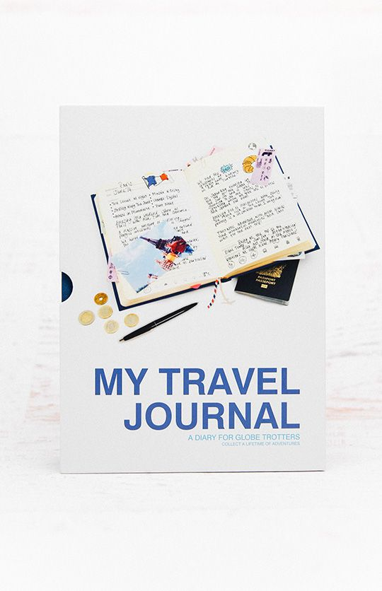 My Travel Journal - Blue from peppermayo.com