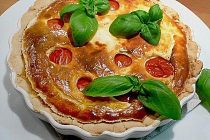 Tomaten - Ziegenkäse - Quiche (Rezept mit Bild) von plumbum | Chefkoch.de