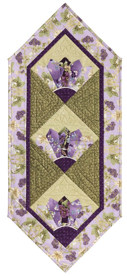 Oriental Fan Eleanor Burns Signature Quilt Pattern by Quilt in a Day