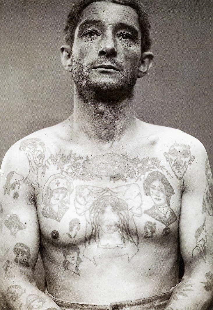 Victorian Man Tattoo Mein Wunderkammer of M...