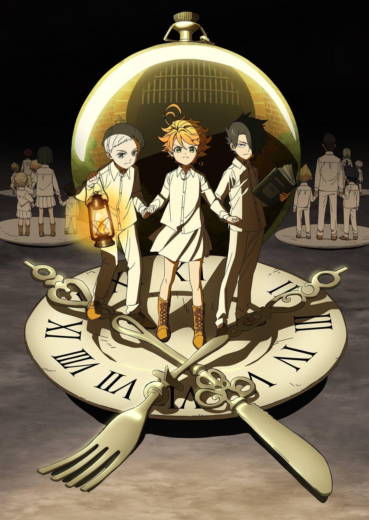 Pin de Yuu em Yakusoku no Neverland imagens) Anime