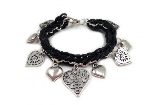 Fishtail And Metal Chain Charm Bracelet Written Instructions
