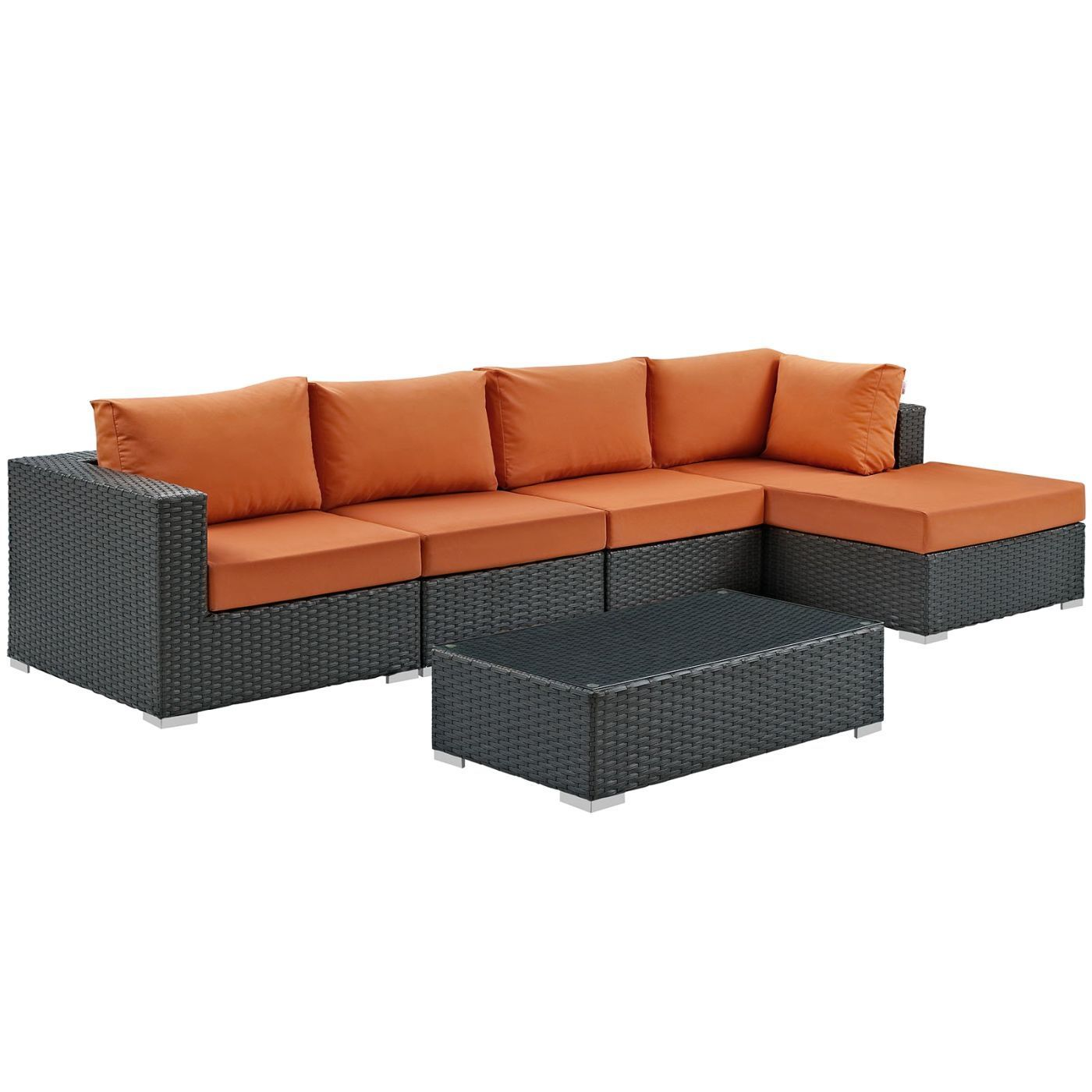 Modway Outdoor Patio Sets On Sale Eei 1886 Chc Tus Set Sojourn 5