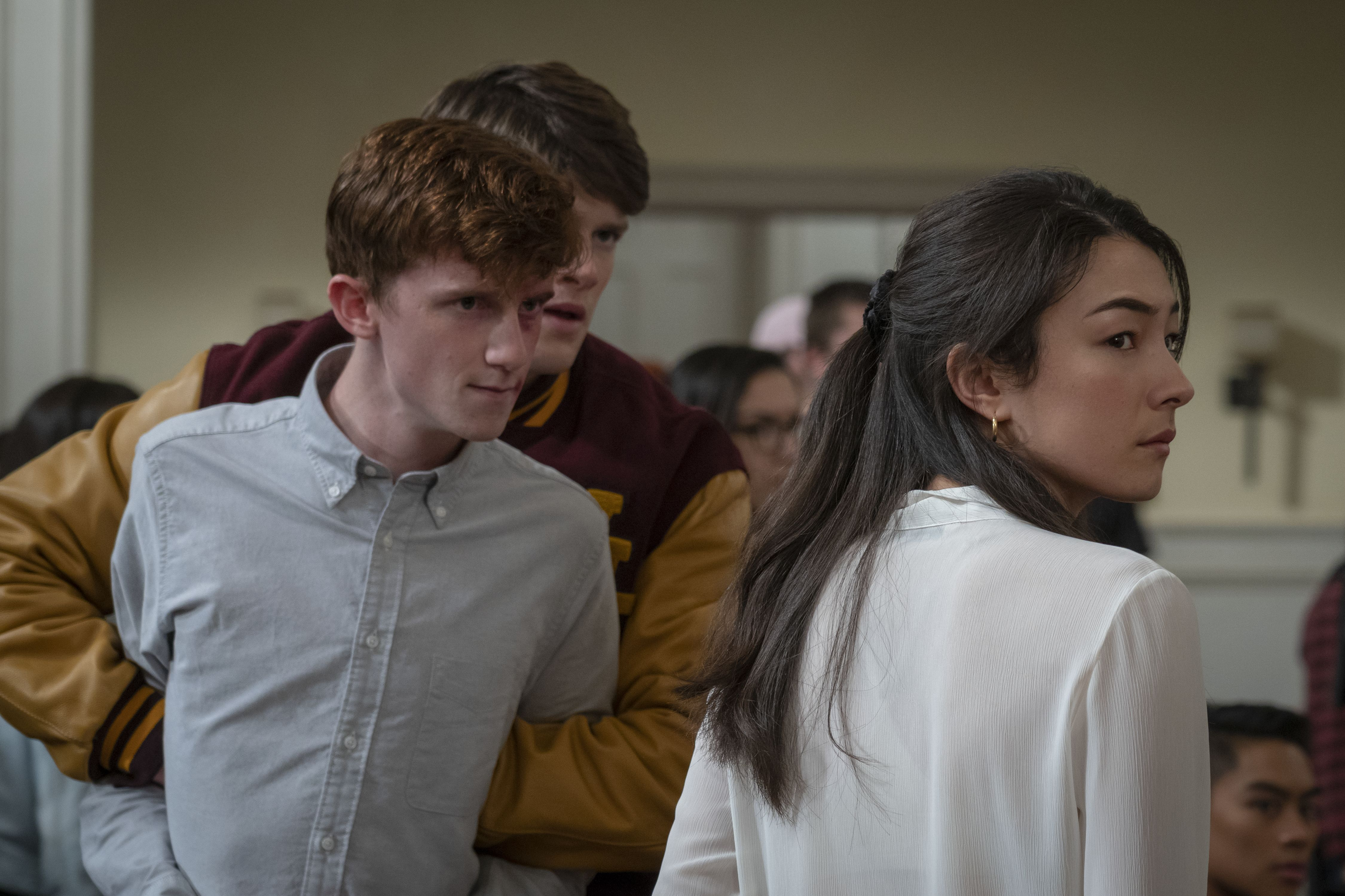 The Society 2019 Season 1 On Set Pictures Behind The Scenes