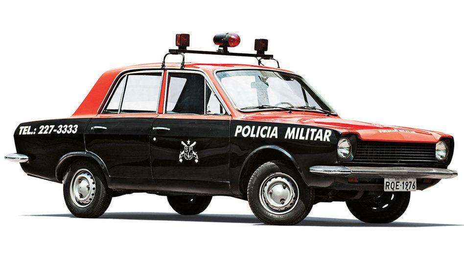 Uma ronda no tempo com as viaturas policiais do passado