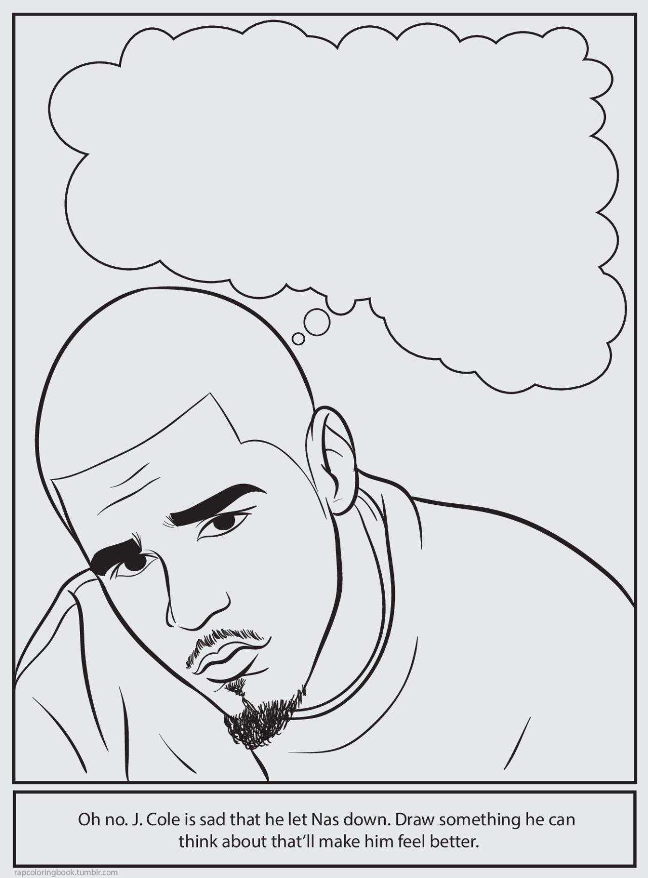 Bun B\'s Jumbo Coloring And Rap Activity Tumblr : Photo | Colour Me ...