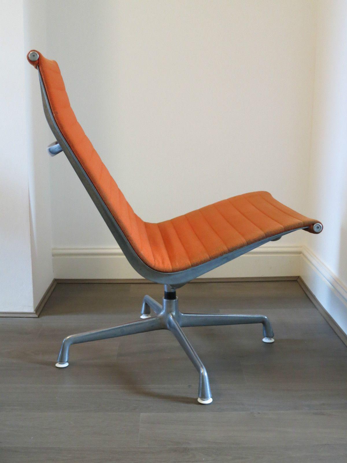 Herman Miller Eames Aluminium Group Lounge Chair Vitra