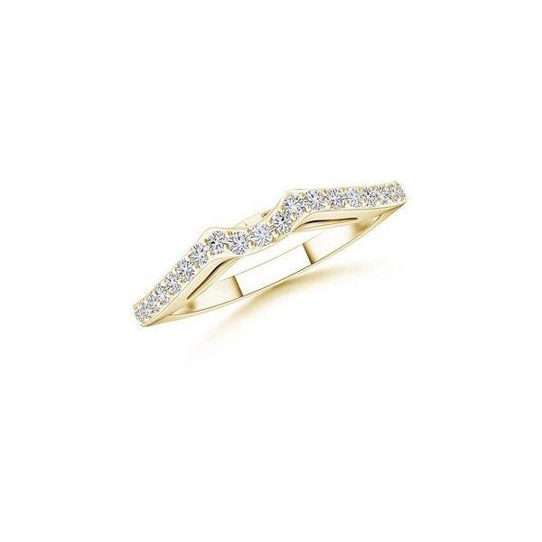 Angara Diamond Half Eternity Wedding Band in Rose Gold skNLQPJZP