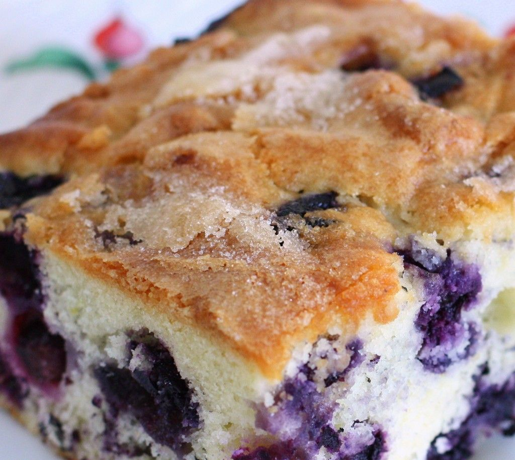 Buttermilk Blueberry Breakfast Cake | Wives with Knives