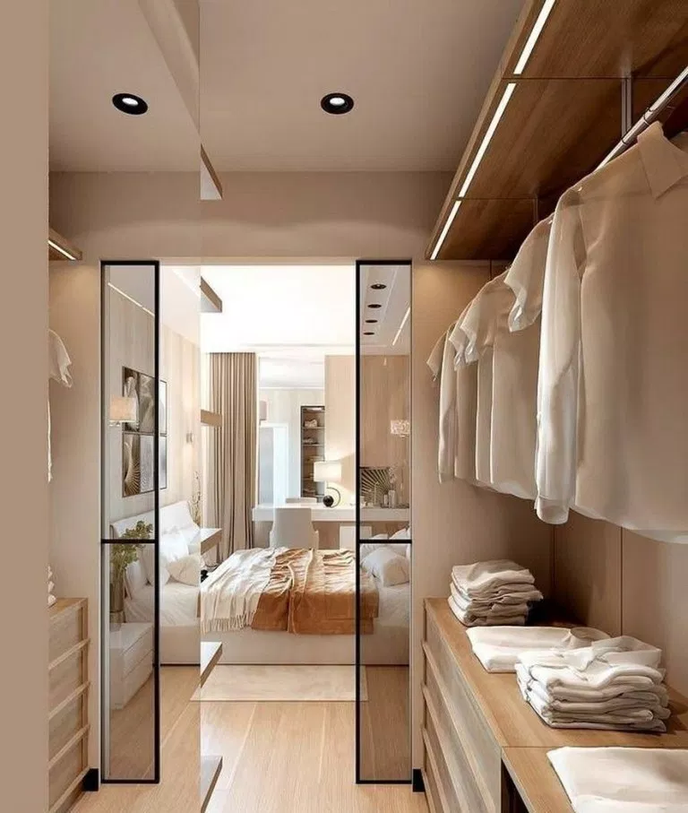 ✔50 Best Walk in Closet Design Ideas to Inspire You #walkincloset #closet #closetdesign #closetideas #bedroom – JANDAJOSS.ME #walk in wardrobe