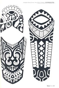 New Maori Tattoo Buscar Con Google Tribal Pinterest Tatuaje