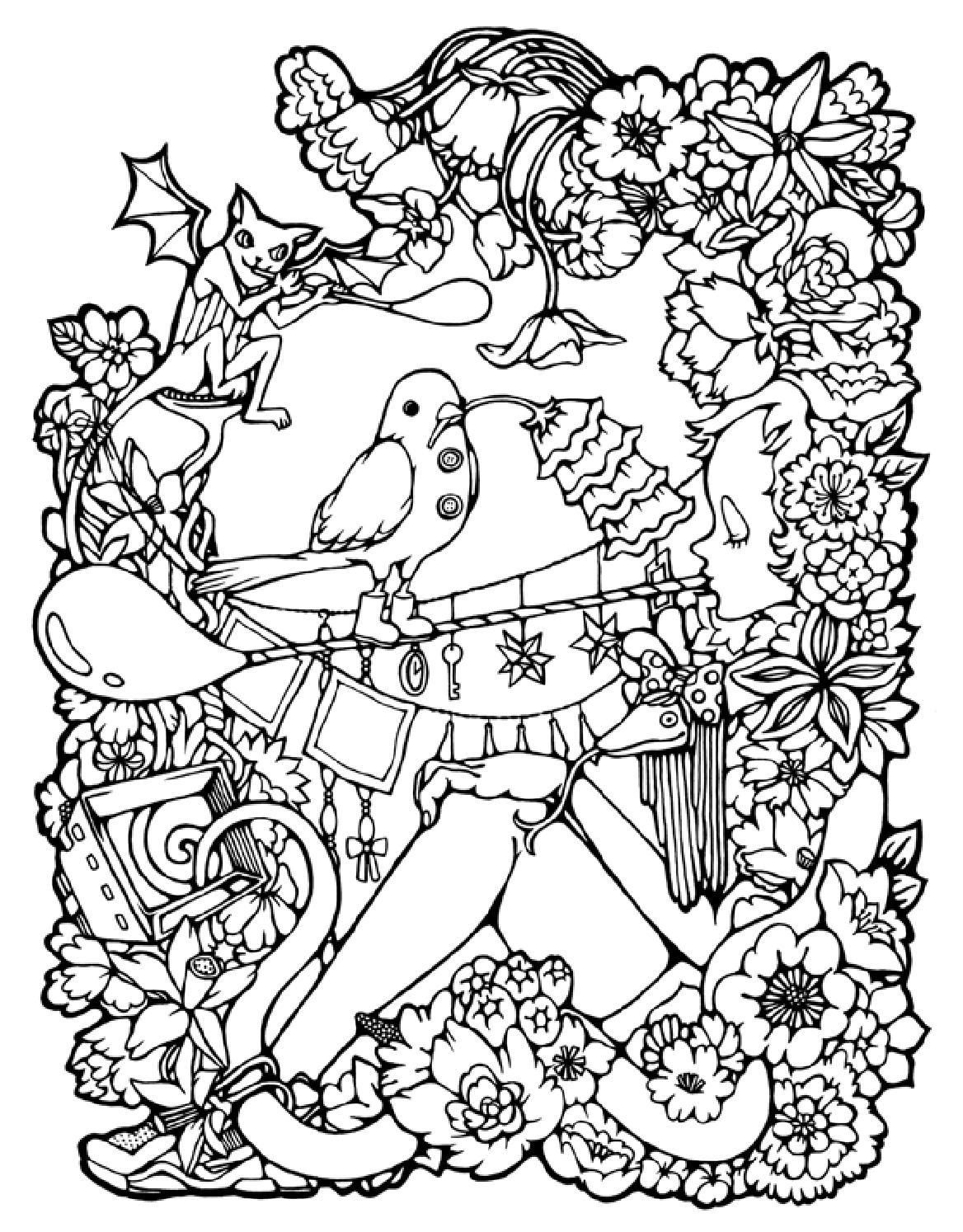 ClippedOnIssuu From DOODLERS ANONYMOUS COLORING BOOK