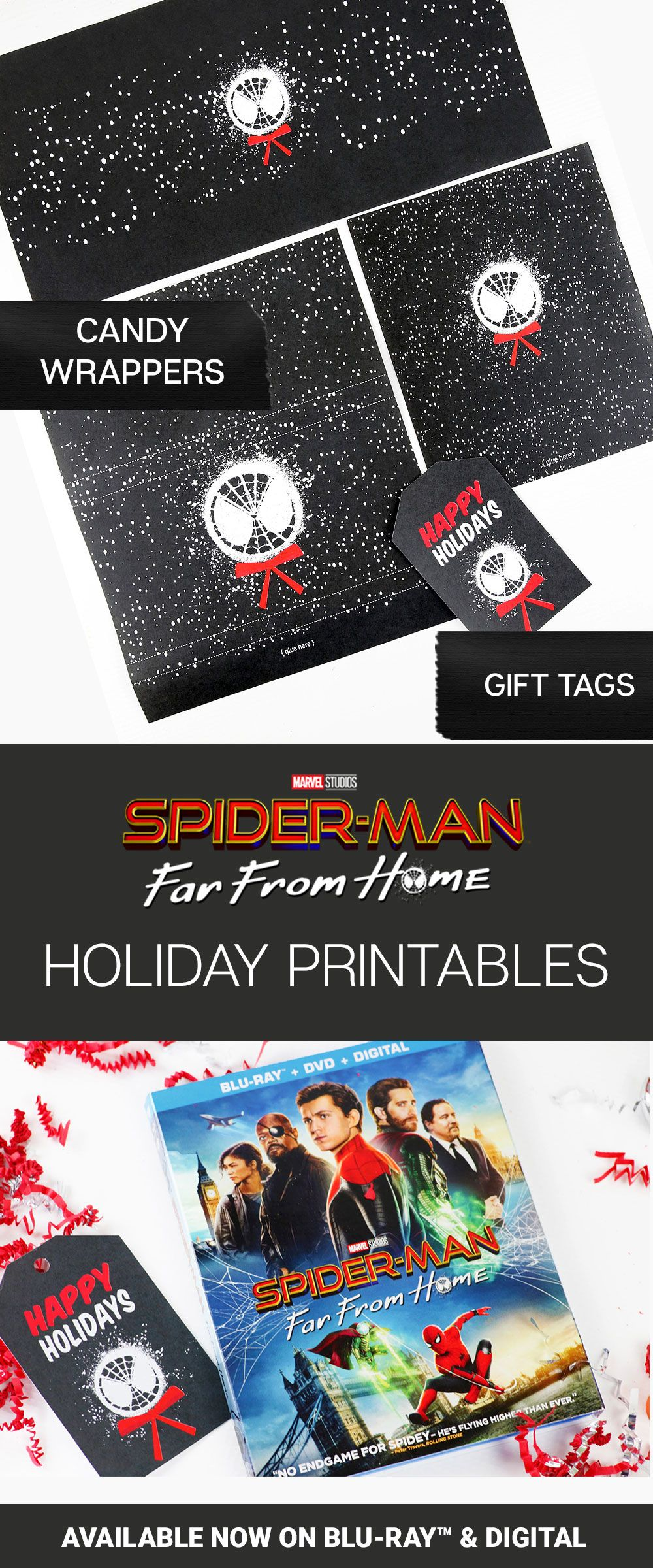 Spider-Man: Far From Home Family Movie Gift