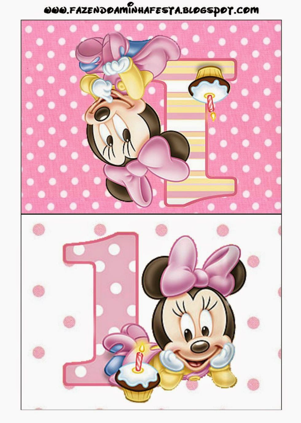 Minnie First Year Free Printables 009 Jpg 980a 1 376 Pa Xeles