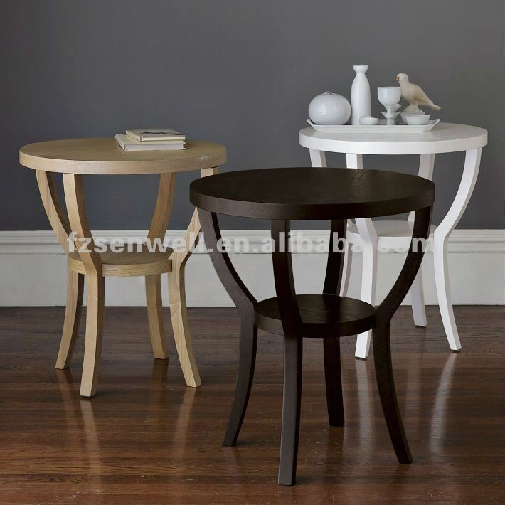 Best Charming Wooden Coffee Table In 3 Sets Round Nightstand 400 x 300