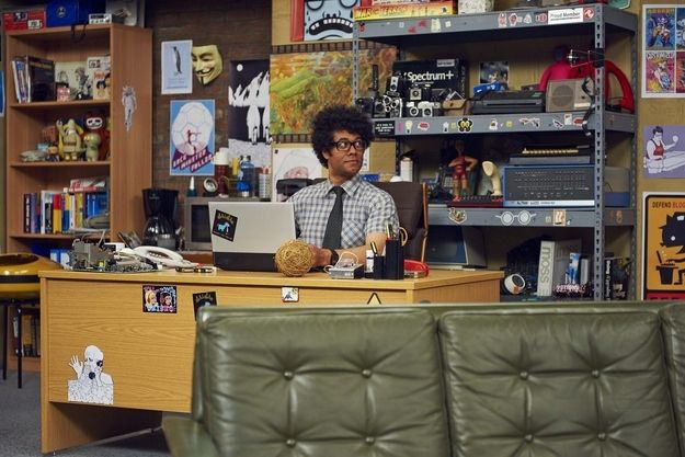 """So The IT Crowd returns for a one-off final episode this week. 