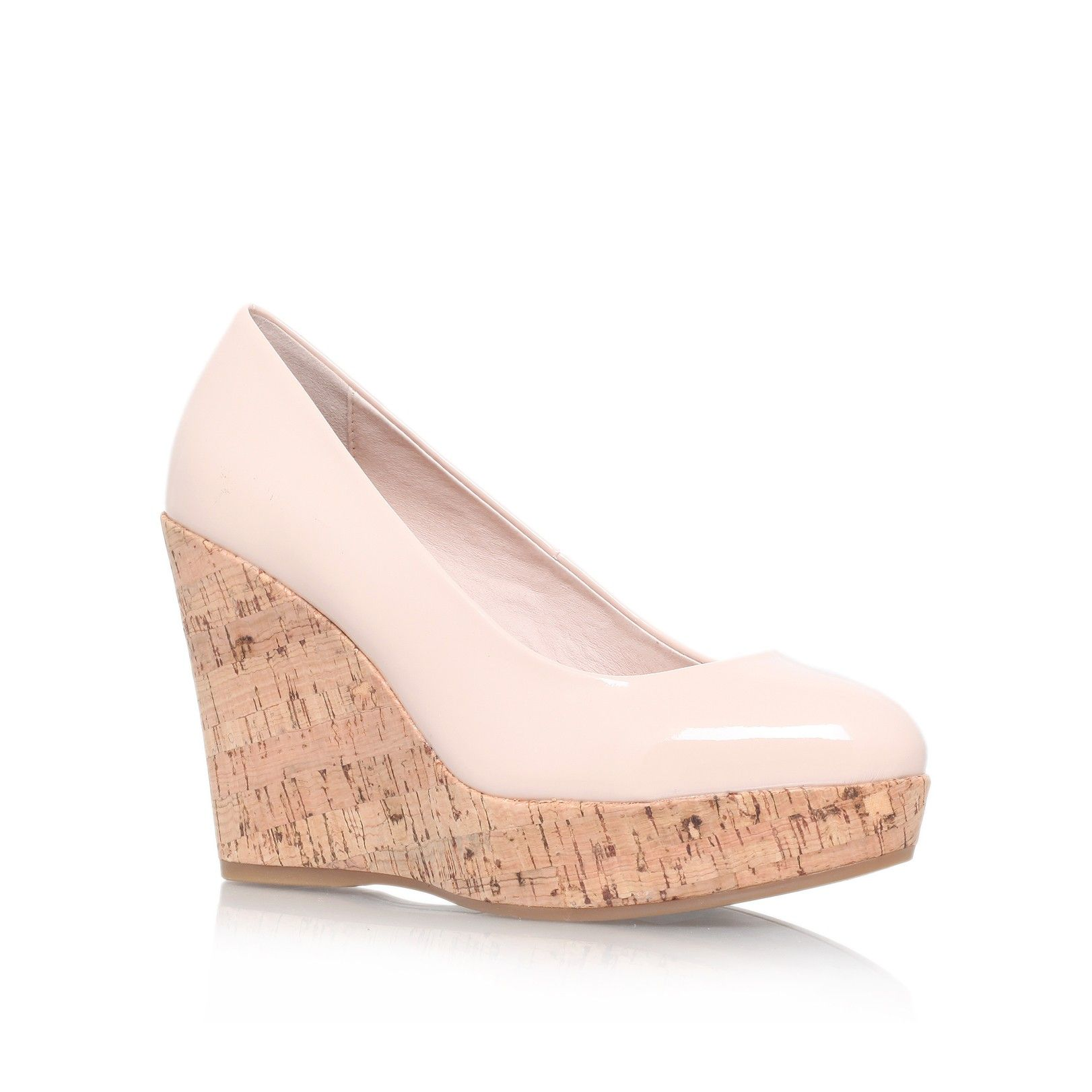 1935809d29be attend nude high heel wedge shoes from Carvela Kurt Geiger
