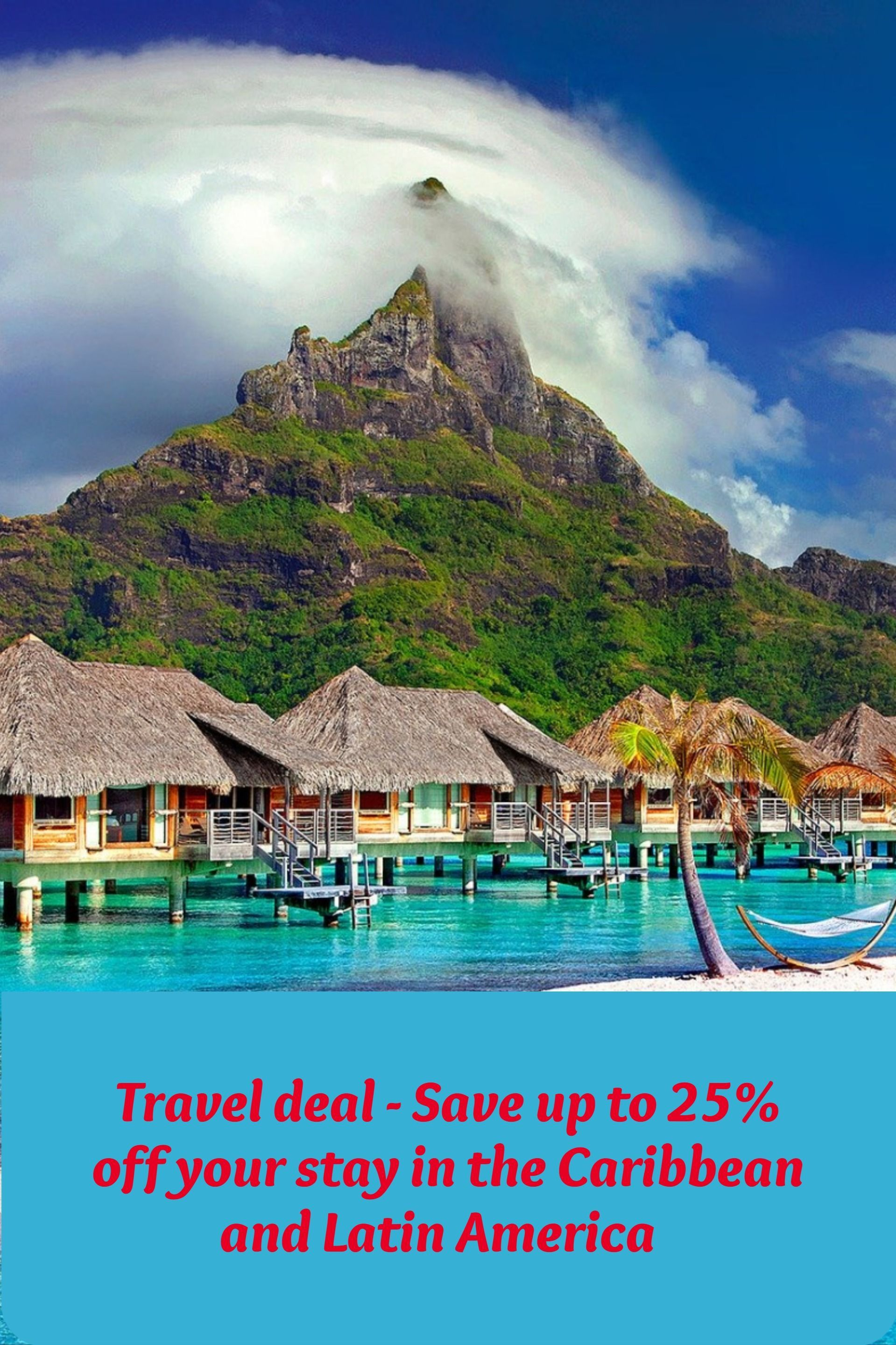 Travel deal - Save up to 25% off your stay in the Caribbean and Latin America #latinamericatravel Book in advance and save up to 25% off your stay in the Caribbean and Latin America. Use the code ADP for booking. Deadline: December 30, 2019. Click the link to know more. #traveldeals #affiliate #marriott #marriotthotels #marriottbonvoy #marriotthotelsrooms #marriottresorts #traveldealscheap #christmasgift