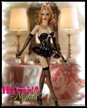 "JAMIEshow ""Havana Nights"" Grace Basic Doll"