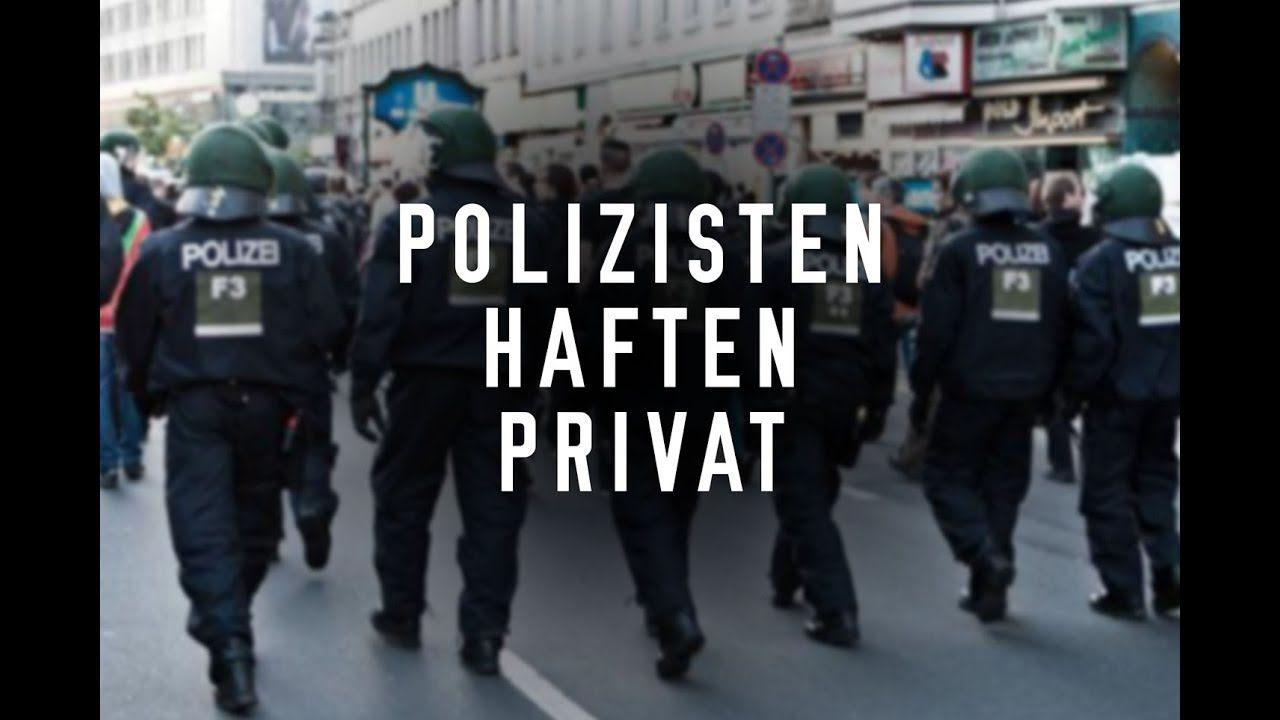 Polizisten Haften Privat Sie Wissen Es Meistens Nicht Polizisten Privat Wissen