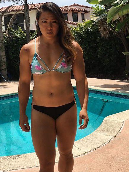 Stunning bigbooty girlfriend jackie cruz dances in her lingerie - 1 1