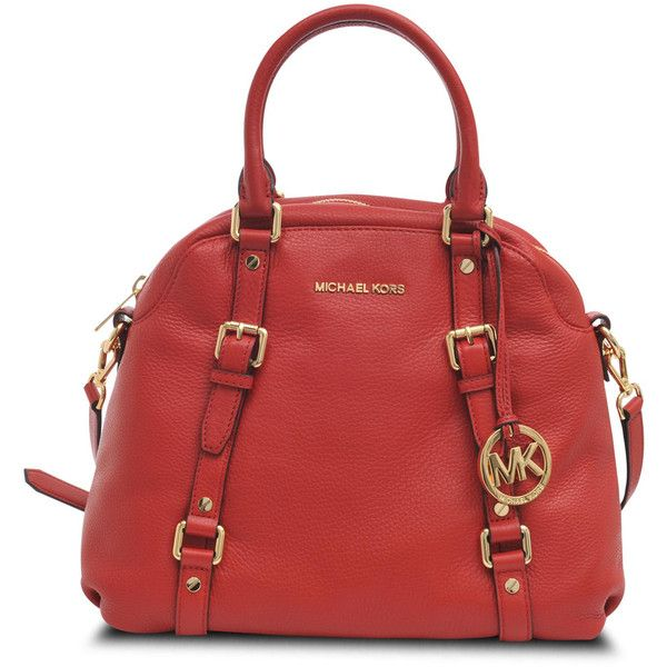 Michael Kors Bedford Dome bag in satchel leather found on Polyvore