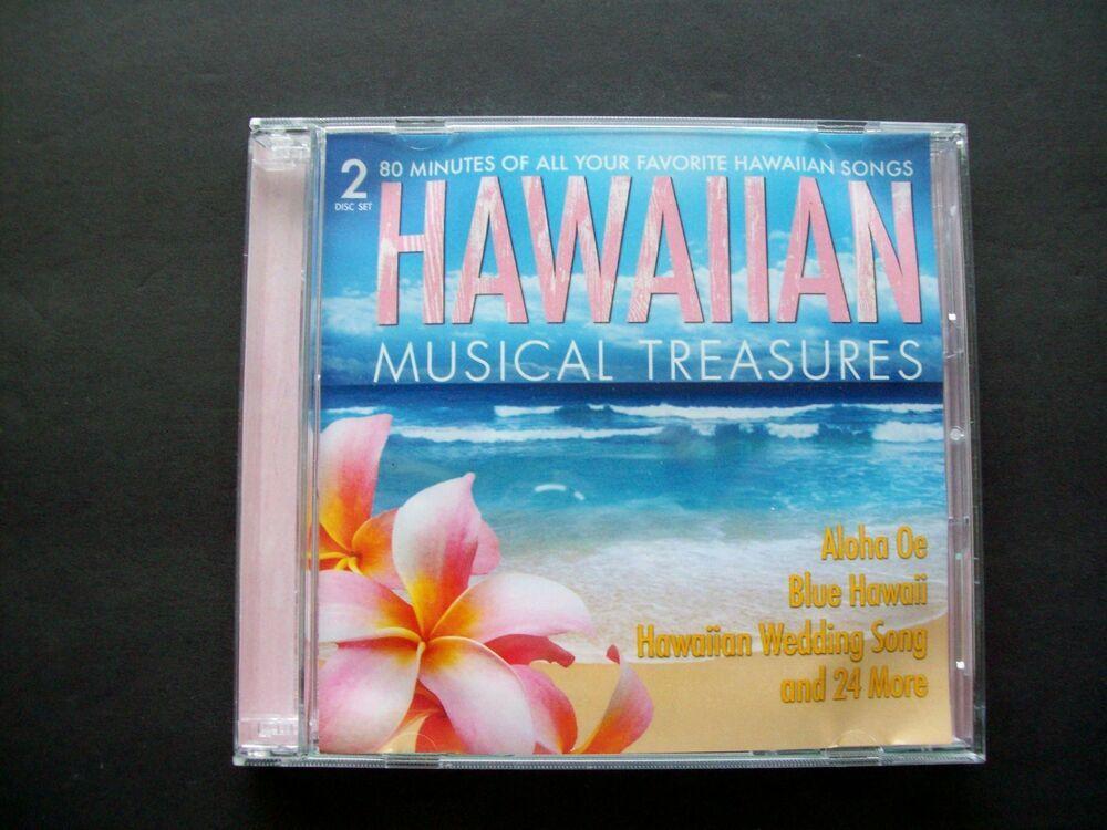Hawaiian Musical Treasures 2 disc set CD's The Haole